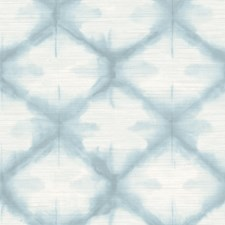 Blue Trellis Wallcovering by Brewster