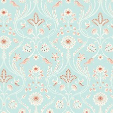 Turquoise Coastal Wallpaper Wallcovering by Brewster