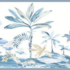 Blue Coastal Wallpaper Wallcovering by Brewster