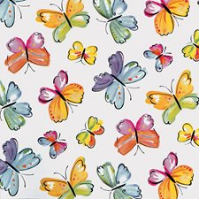 346-0377 Butterflies Adhesive Film by Brewster