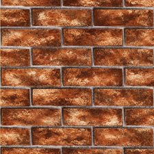 Brick Red Wallcovering by Brewster