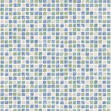 414-58753 Corfu Aqua Tiles by Brewster