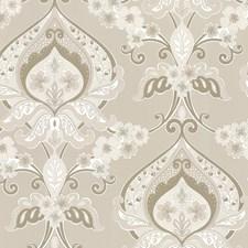 Beige Modern Wallpaper Wallcovering by Brewster