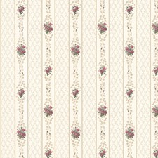 Burgundy Trellis Wallcovering by Brewster