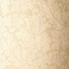 Cream Wallcovering by Schumacher Wallpaper