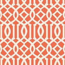 Ivory/Mandarin Wallcovering by Schumacher Wallpaper