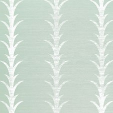 Seaglass/Chalk Wallcovering by Schumacher Wallpaper