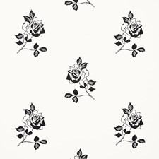 Blackwork Wallcovering by Schumacher Wallpaper