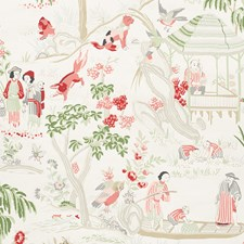 Ivory Wallcovering by Schumacher