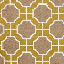 Yellow and White On Jute Wallcovering by Phillip Jeffries Wallpaper