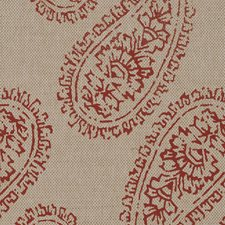 Red On Jute Paperweave Wallcovering by Phillip Jeffries Wallpaper