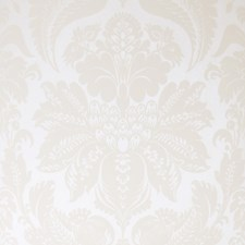 Ivory Damask Wallcovering by Stroheim Wallpaper