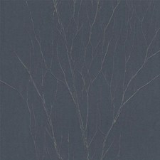Brown/Blue Raised Prints Wallcovering by York