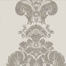 Grey and Silver Wallcovering by Cole & Son Wallpaper