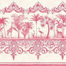 Rose Pink Wallcovering by Cole & Son Wallpaper