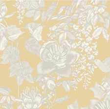 Yellow Wallcovering by Cole & Son Wallpaper