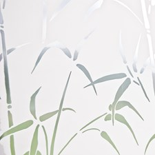 99438 Bamboo Sidelight Privacy Film by Brewster
