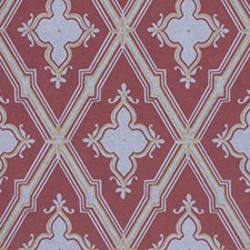 Maroon Wallcovering by Clarence House Wallpaper