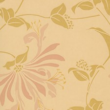 Rose Wallcovering by Clarence House Wallpaper