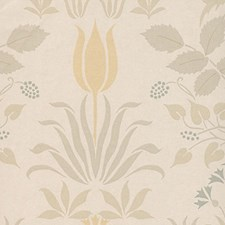 Taupe Wallcovering by Clarence House Wallpaper