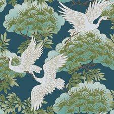 AF6592 Sprig & Heron by York