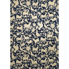 Midnight Animal Wallcovering by Andrew Martin Wallpaper