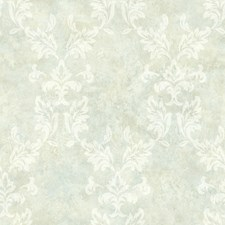 Mint Damask Wallcovering by Brewster