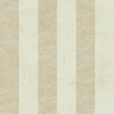 Cream/Beige/Gold Stripes Wallcovering by York