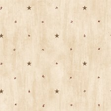 Brown Star Wallcovering by Brewster
