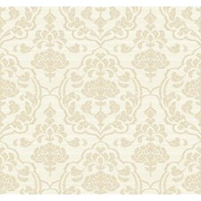 Ivory/Gold Sidewall Wallcovering by York