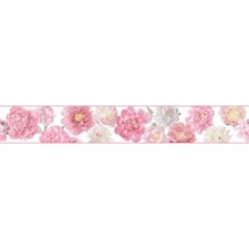 Pearl/Pink/White Botanical Wallcovering by York