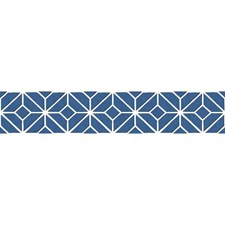 Blue/White Bohemian Wallcovering by York