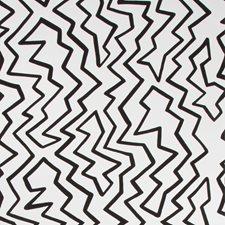 Black On White Modern Wallcovering by Brunschwig & Fils