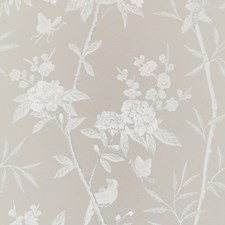 Soft Grey Wallcovering by G P & J Baker
