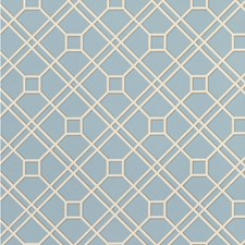 Soft Blue Wallcovering by G P & J Baker