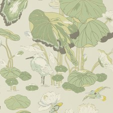 Botanical Wallcovering by G P & J Baker