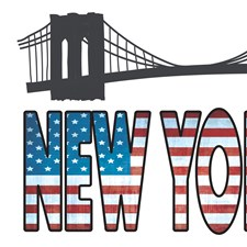 CR-62264 New York Wall Decals by Brewster