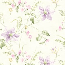 Lavender Trail Wallcovering by Brewster