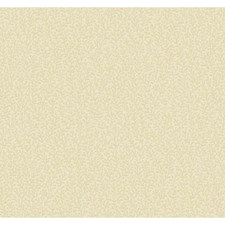 Cream/Bisque/Metallic Silver Sparkles Small Prints Wallcovering by York