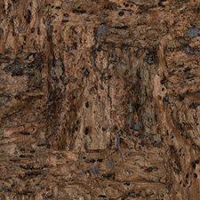 Matte Dark Brown/Medium Brown/Metallic Pewter Textures Wallcovering by York