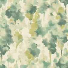 Silvery White/Teal/Dark Yellow Contemporary Wallcovering by York