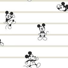 DI0932 Disney Mickey Mouse Stripe by York