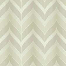 Pearlescent Pale Gold/Muted Beige/Barely Blue Chevron Wallcovering by York