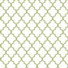 Creamy White/Guacamole/Sterling Silver Trellis Wallcovering by York