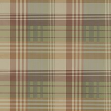 Mulberry Tartan Wallcovering by Mulberry Home