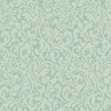 Aqua/Teal/Cream Traditional Wallcovering by York