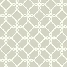 Light Grey/White Geometrics Wallcovering by York