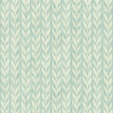 Aqua/Cream/Beige Geometrics Wallcovering by York