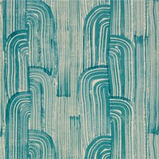Lake/Cream Modern Wallcovering by Groundworks