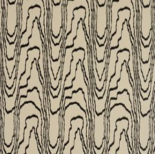 Beige/Ebony Contemporary Wallcovering by Groundworks